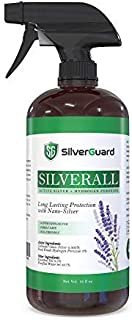 SilverGuard SilverAll Hydrogen Peroxide Spray with Long-Lasting Colloidal Silver & Lavender | Food Grade Hydrogen Peroxide...