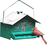 Perky-Pet Squirrel Be Gone Bird Feeder, All Metal Squirrel Proof Wild Bird...