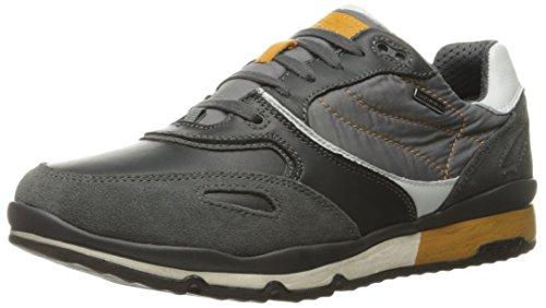 Geox Geox Herren U Sandford B Abx A Sneaker, Grau (Charcoal/Greyc9268), 39 EU