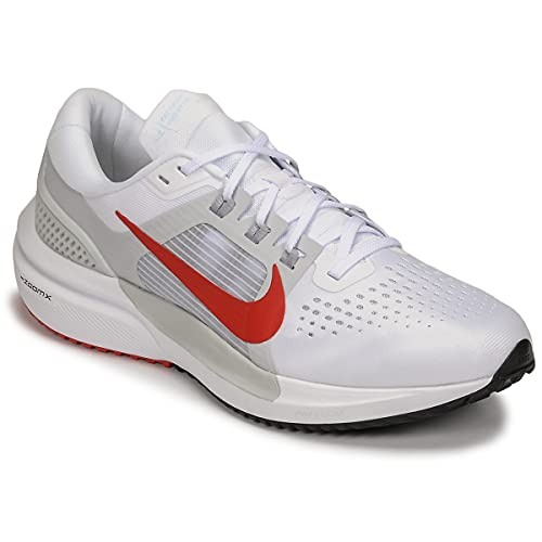 Nike Air Zoom Vomero 15, Running Hombre, White Chile Red Pure Platinum Wolf, 47 EU