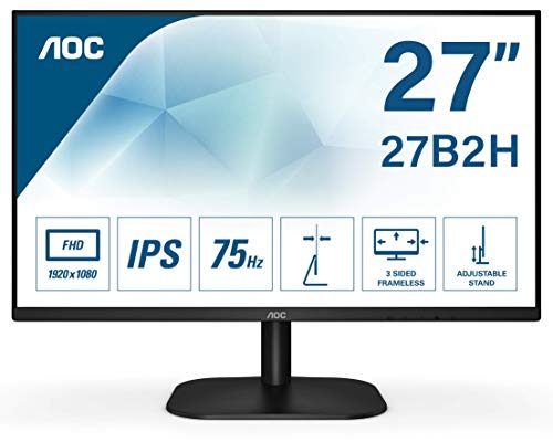 AOC 27B2H - Monitor para PC de 27 pulgadas Full HD 75Hz (192