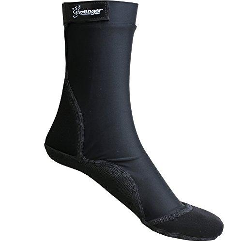 Seavenger - Calcetines altos con suela antideslizante para la arena de la playa, practicar voleibol, esnórquel, buceo, vadeo, etc.