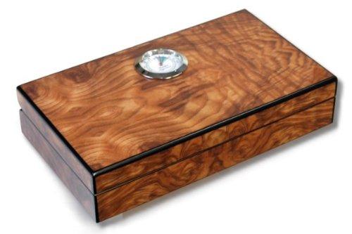 Pocket Humidor Walnut inkl. Lifestyle-Ambiente Tastingbogen
