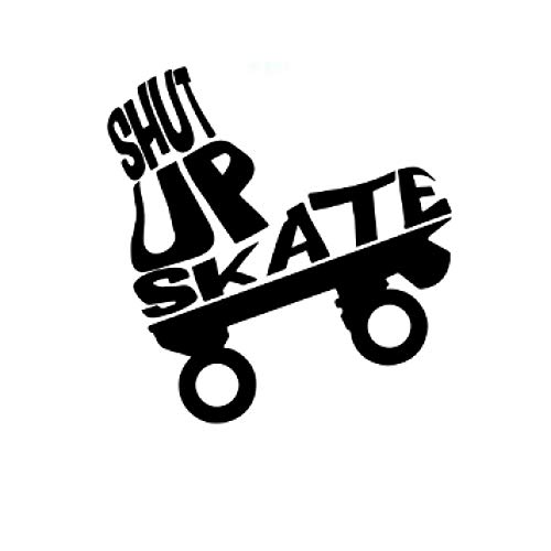 GHJL Skateboard Abnehmbare PVC Wandaufkleber Für Kinderzimmer Kinderzimmer Dekor Abnehmbare Wandaufkleber 42 cm X 43 cm