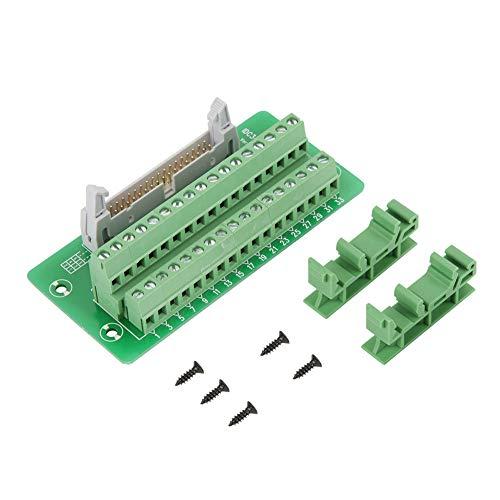 IDC34P 34Pin Steckerleiste Breakout Board Terminal Block Stecker PLC Schnittstelle mit Halterung PCB träger.