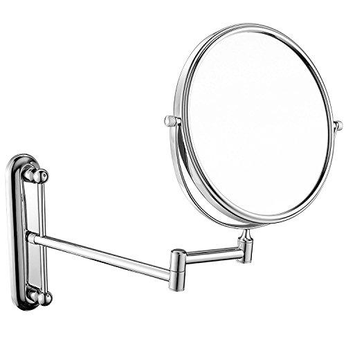 JYSPORT Make Up Tabletop Specchio Specchio cosmetico Compatto vanità Specchio Peterhof ingrandimento da Barba con 360Gradi di Swivel, Stile 2