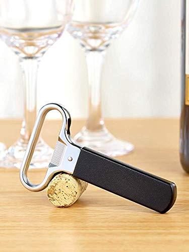 LLDKA wijnflesopener voor het openen van de oude fles, kurkentrekker, twee delen met Europese diameter
