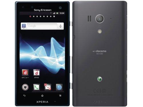 Xperia acro HD SO-03D docomo [Black]