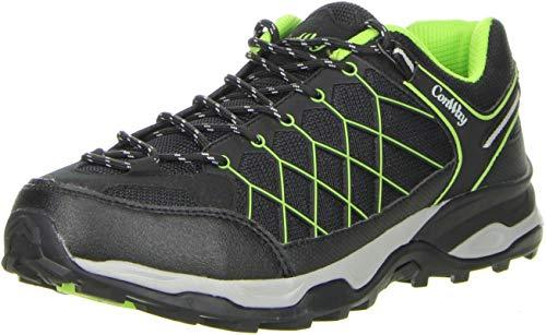 ConWay Herren Trekkingschuhe Outdoorschuhe grün, Größe:44, Farbe:Grün