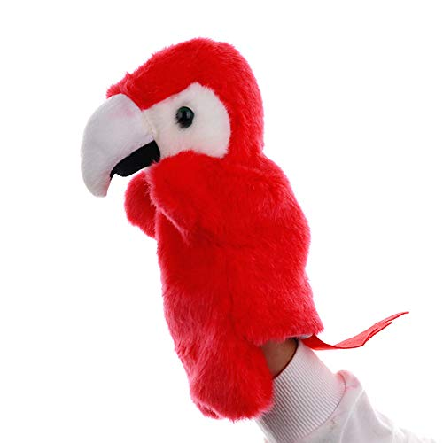 Yiwa Loro Dibujos Animados Marioneta Mano Pájaro