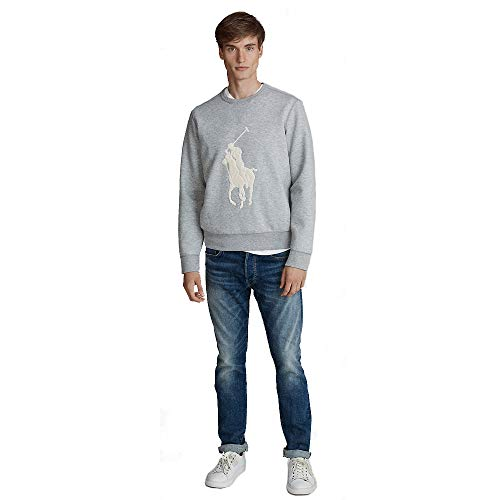 Polo Ralph Lauren Sweat Maille Double Big Pony (XL, Andover Heather)