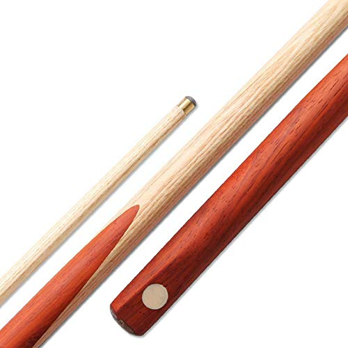 "WEHOLY Pool Cues, Ash 57"" Snooker Cue Single Section One 10mm Tip Very Nice Grip Pool Cue"