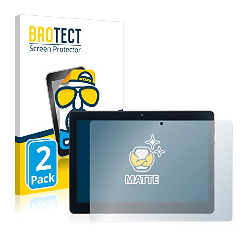 BROTECT 2X Entspiegelungs-Schutzfolie kompatibel mit Acepad A140 10.1 Displayschutz-Folie Matt, Anti-Reflex, Anti-Fingerprint