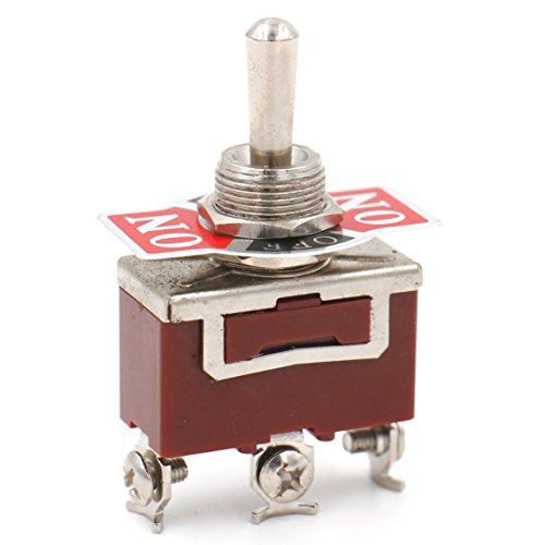 Heschen en métal Interrupteur à bascule Spdt on/off/(On) momentané latérale 3 position 15 A 250 VAC