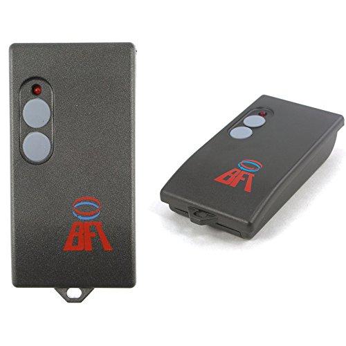 BFT TO2 Radiocomando Bicanale, 30.875 MHz, Nero