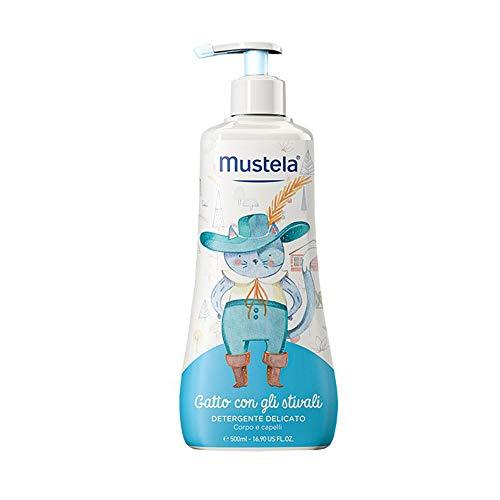 Mustela Gatto Con Gli Stivali Detergente Delicato Corpo & Capelli, 500ml