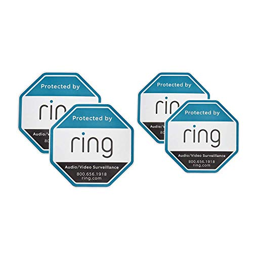 Ring Window Security Stickers