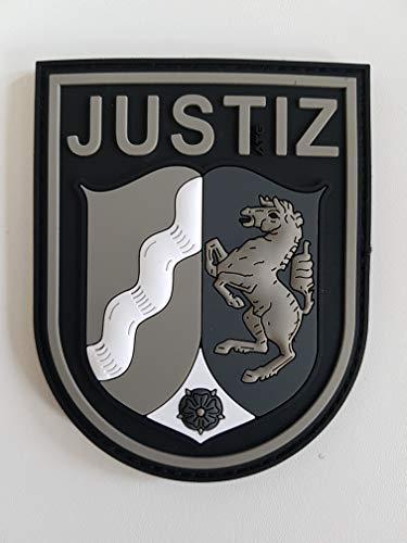 ATG Ärmelabzeichen JUSTIZ NRW 3 D Rubber Patch BlackOps