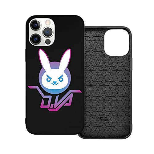Overwatch iPhone 12 pro max Case Soft Silicone Ultra Slim Shockproof Full Body Rubber Protective Cover
