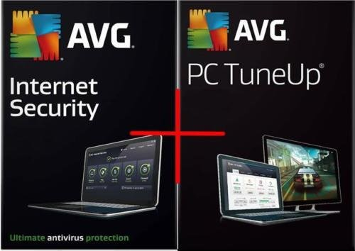 Avg Antivirus 2018 2 pc 2 year + Avg 2 User 2 Year Pc tune up Delivery on same day via Amazon Message - Download software link and Activation key