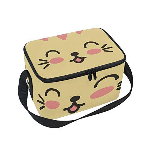 Isolierte Lunchtasche mit englischem Bulldoggen-Design, große Kühltasche für Kinder und Frauen 10x7x6 in Multi11
