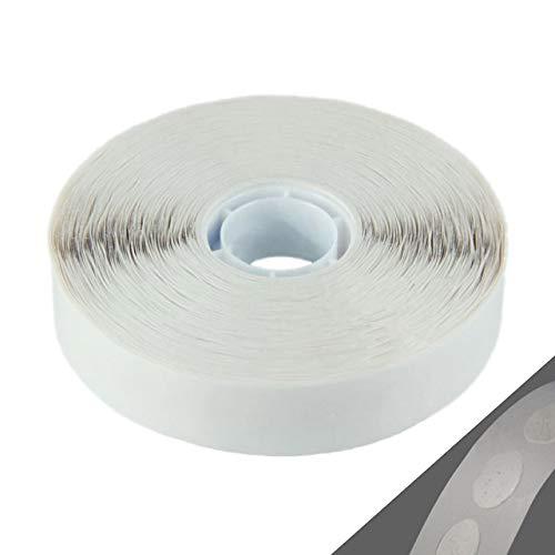 Superdots Large | 1000 Stück auf Rolle | zur Verarbeitung mit ATG 700 | Klebepunkte oval, 17 x 12 mm/Easy Midtak, ablösbar