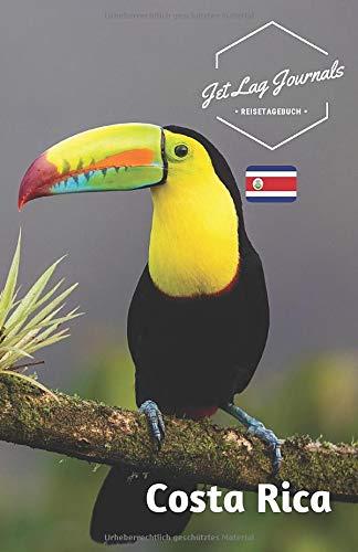 JetLagJournals • Reisetagebuch Costa Rica: Erinnerungsbuch zum Ausfüllen   Reisetagebuch zum Selberschreiben   Costa Rica Urlaub