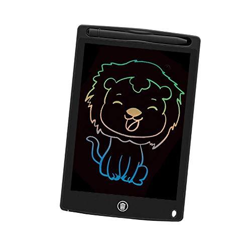 HYL0 8,5 Pulgadas Tableta gráficos para Dibujar Escritura Tablilla de Escritura Tablero Pad Stylus Pen Bloc de Notas ZZBiao (Color : Black)