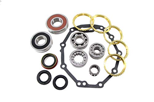 Fits Toyota R151 R154 5SPD BK163WS Transmission Rebuild Bearing Kit 1986-1994 with SYNCHROS