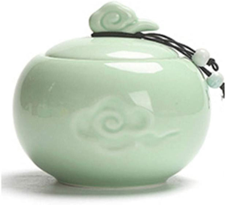 Ceramic Pet Urn, Sealed MoistureProof Urns, Pet Ashes Holder Memorial Container