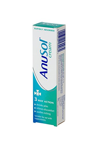 Anusol Cream for Haemorrhoids Treatment - Shrinks Piles, Relieves Discomfort and Soothes Itching - 43 g Tube