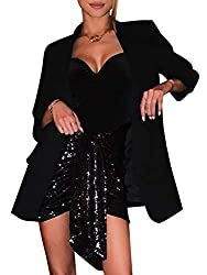 Black1 Beach Wrap Sequins Tassel Mini Skirt Hip Scarf Belt