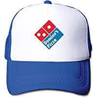 DIYoDGG Adult Unisex Dominos Pizza Logo Royalblue Trucker Cap Adjustable