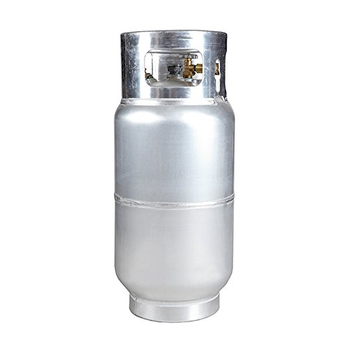 New 33.5 lb Aluminum Forklift Propane Cylinder with Quick Fill Valve