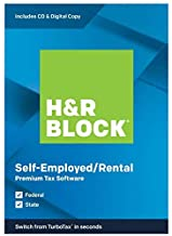 H&R Block 2019, Premium, for PC/Mac