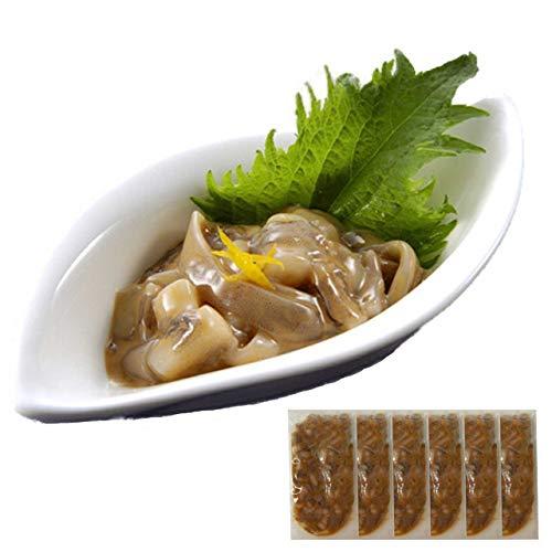 お中元 ギフト イカゲソの塩辛60g×6P*14時までのご注文 ヤマキ食品 イカ屋荘三郎