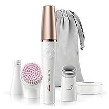 Braun Pro 912 FaceSpa, 3-in-1 Beauty Gerät für das Gesicht, Akkubetrieb, weiß/bronze©Amazon