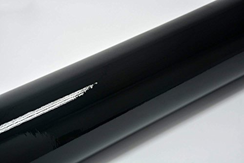 DEALBOX 4d Fibra de Carbono Vinilo Autoadhesivo sin Burbujas de Aire/Negro 300x 1520