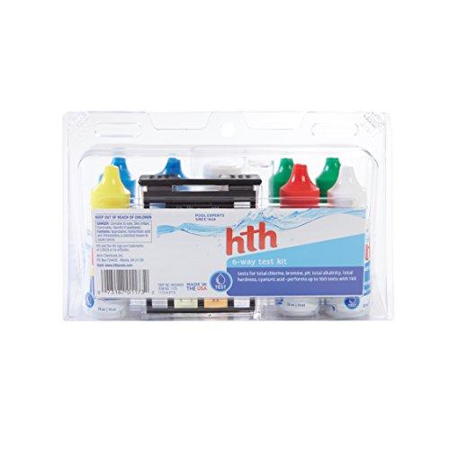 HTH 1173 6-Way Test Kit Swimming Pool Water Tester