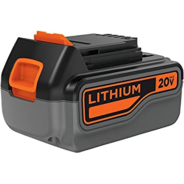 BLACK+DECKER LB2X4020-OPE 20V 4.0Ah Lithium Ion Battery Pack