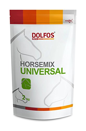 PETS Dolfos HORSEMIX UNIVERSAL 2kg Concentrated Vitamins, Minerals and Amino acids Supplement for all Horses