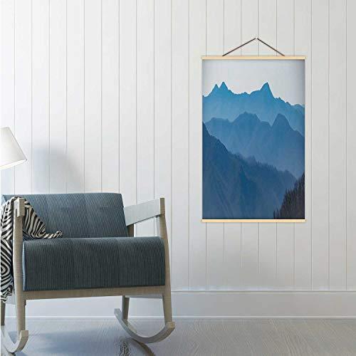 Hitecera Blue Ridge Parkway North Carolina US State,Poster Frame Blue Mountains Poster Frame 24x35in(WxH)