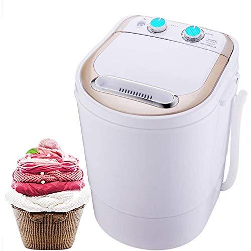 ZYCH Tragbar ABS Mini-Waschmaschine für Single Waschmaschine mit Trockner und Schleuder Campingwaschmaschine Billig Waschmaschine Menschen mit Babys und Student Waschmaschinen