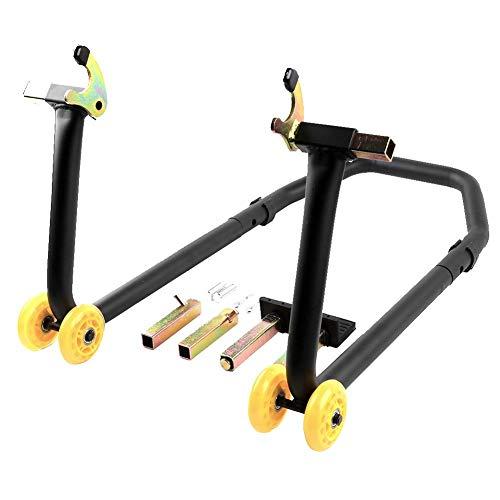Duokon Achterbrug Stand Paddock Wheel, Universele Motorfiets Afneembare Achter Lift Stand Fit voor Honda Fit voor