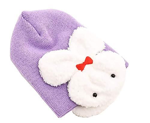 Hoed - kinderen - oorbeschermers - konijn - warm - baby's - cadeau-idee - jongen - meisje - unisex