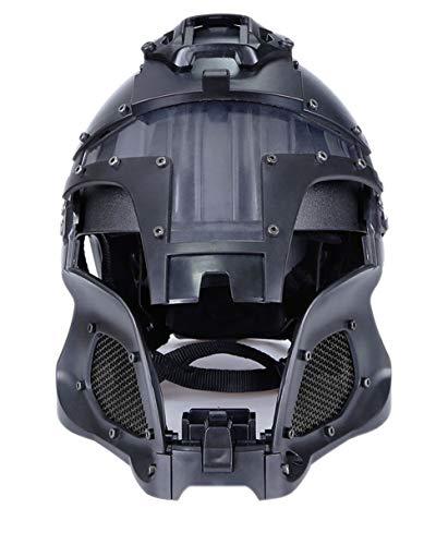 GEE STRANDING Mittelalterlicher Samurai Cosplay Helm Geeignet Für Airsoft Paintball Schutzhelm Motorradhelm Modern Soldiers