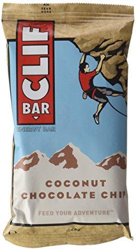 CLIF Barrita Energética Avena Con Coco Y Pepitas Chocolate - CLIF BAR - 68 gr. (caja 12 un.) Total: 816 g