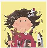 YUHHGFK Pintar por Numeros Adultos Niña de Dibujos Animados Pintura al óleo de DIY por Números con Pinceles y Pinturas para Adultos y Niños Decoraciones para el Hogar- 40 x 50 cm (Sin Marco)