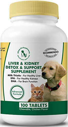 Top 10 best selling list for hepatic support supplements for dogs