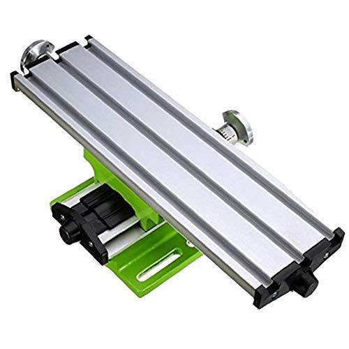 Kreuztisch Arbeitsquerschlitten Tischarbeitstisch für Fräsen Bohren Bench Multifunktions Einstellbare X-Y